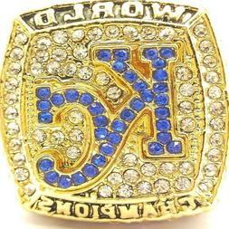 USA Kansas City Royals 2015 Perez World Series Golden Champi
