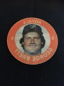Vintage 1984 George Brett Kansas City Royals 7-11 Super Star